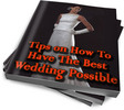 Thumbnail Tips on How To Have The Best Wedding Possible PLR Reports