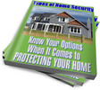 Thumbnail Types of Home Security PLR Reports