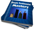 Thumbnail Simple Testimonial Mastery MRR/ Giveaway Rights