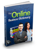 Thumbnail Online Business Dictionary MRR/ Giveaway Rights