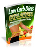 Thumbnail Low Carb Diets Explained - Make The Right Diet Choice