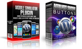 Thumbnail Mobile Simulator, Affiliate Social Buttons - 2 WP Plugins (MRR)