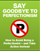 Thumbnail Say Goodbye To Perfectionism MRR/ Giveaway Rights