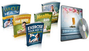 Thumbnail Health And Wellness Course Bundle (5 eBooks) - MRR