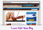 Thumbnail Learn Violin Niche Blog