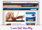 Thumbnail Learn Violin Niche Blog