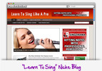 Thumbnail Learn To Sing Niche Blog