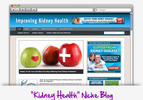 Thumbnail Kidney Health Niche Blog