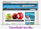 Thumbnail Kidney Health Niche Blog