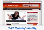 Thumbnail CPA Marketing Tips Niche Blog