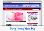 Thumbnail Potty Training Niche Blog