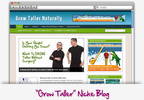 Thumbnail Grow Taller Niche Blog