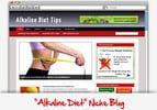 Thumbnail Alkaline Diet Niche Blog