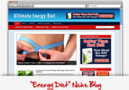 Thumbnail Energy Diet Niche Blog