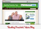 Thumbnail Healthy Prostate Niche Blog