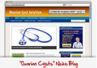 Thumbnail Ovarian Cysts Niche Blog