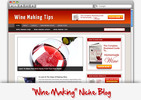 Thumbnail Wine Making Niche Blog