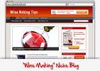 Thumbnail Wine Making Niche Blog