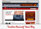 Thumbnail Sciatica Pain Relief Niche Blog
