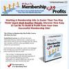 Thumbnail 10 Days to Membership Site Profits - PLR Newsletter
