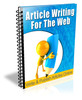 Thumbnail Article Writing for the Web - PLR Newsletter