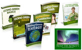 Thumbnail Going Green Course Niche Packs (5 eBooks) - MRR