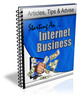 Thumbnail Starting an Internet Business PLR Newsletter Series