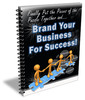 Thumbnail Brand Your Business For Success PLR Newsletter Series