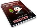 Thumbnail Investment Basics PLR Newsletter Series