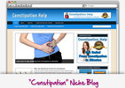 Thumbnail Constipation Niche Blog