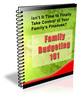 Thumbnail Family Budgeting PLR Newsletter Series