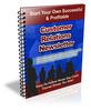 Thumbnail Customer Relations PLR Newsletter Series