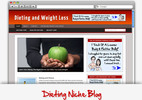 Thumbnail Dieting Niche Blog - Video Installation Tutorials Included