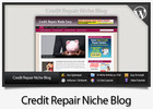 Thumbnail Credit Repair Niche Blog - Video Tutorials Included