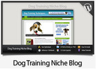 Thumbnail Dog Training Niche Blog - Video Installation Tutorials Included