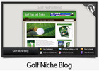 Thumbnail Golf Niche Blog - Video Installation Tutorials Included