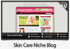 Thumbnail Skin Care Niche Blog - Video Installation Tutorials Included
