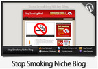 Thumbnail Stop Smoking Niche Blog - Video Installation Tutorials Included