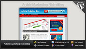 Thumbnail Article Marketing Niche Blog - Video Tutorials Included