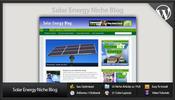 Thumbnail Solar Energy Niche Blog - Video Tutorials Included