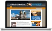 Thumbnail Learn Spanish Niche Blog - Video Tutorials Included