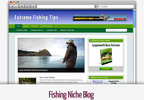Thumbnail Fishing Niche Blog - Video Installation Tutorials Included