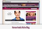 Thumbnail Hemorrhoids Niche Blog - Video Tutorials Included