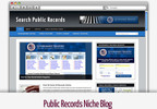 Thumbnail Public Records Niche Blog - Video Tutorials Included