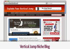 Thumbnail Vertical Leap - Vertical Jump Niche Blog - Video Tutorials Included