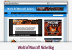 Thumbnail World of Warcraft Niche Blog - Video Tutorials Included