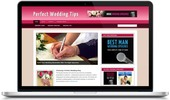 Thumbnail Wedding Tips Niche Blog - Video Tutorials Included