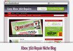 Thumbnail Xbox 360 Repair Niche Blog - Video Tutorials Included