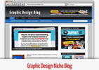 Thumbnail Graphic Design Niche Blog - Video Tutorials Included