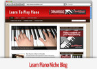 Thumbnail Learn Piano Niche Blog - Video Tutorials Included